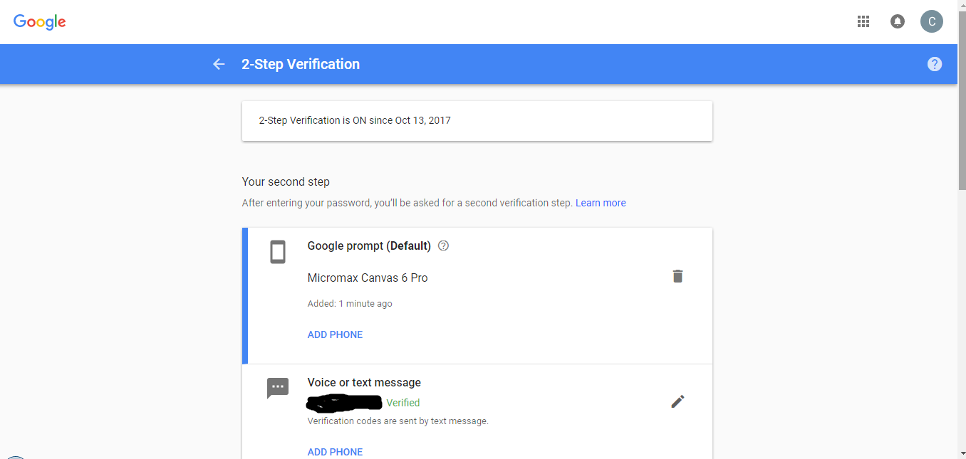 No Option to Turn Off 2-Step Verification - G Suite Admin Help
