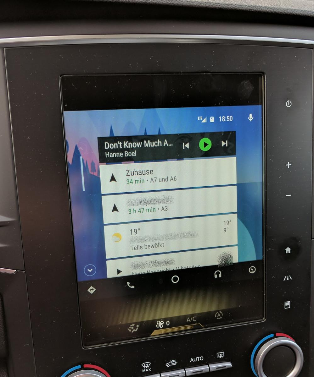 Improve screen resolution on Renault R-Link 2 - Android Auto Help