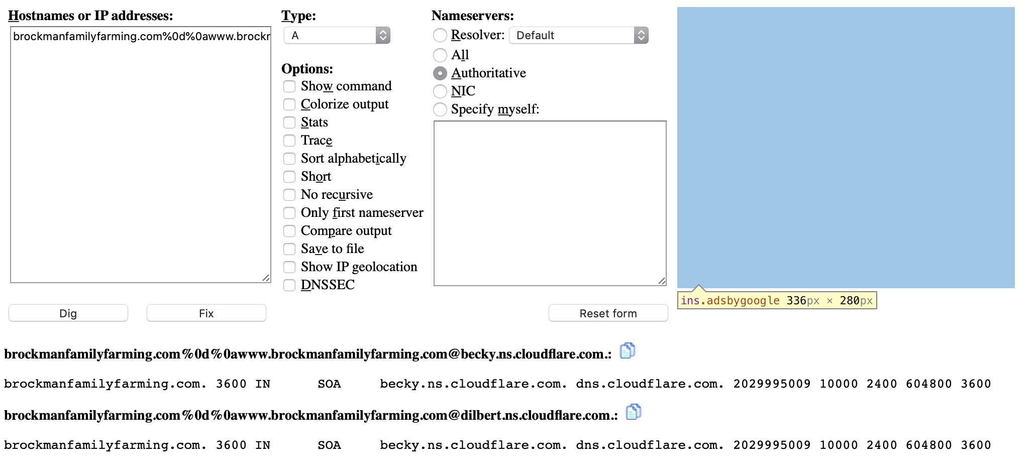 Cloudflare DNS and perhaps custom Blogger domain name issue