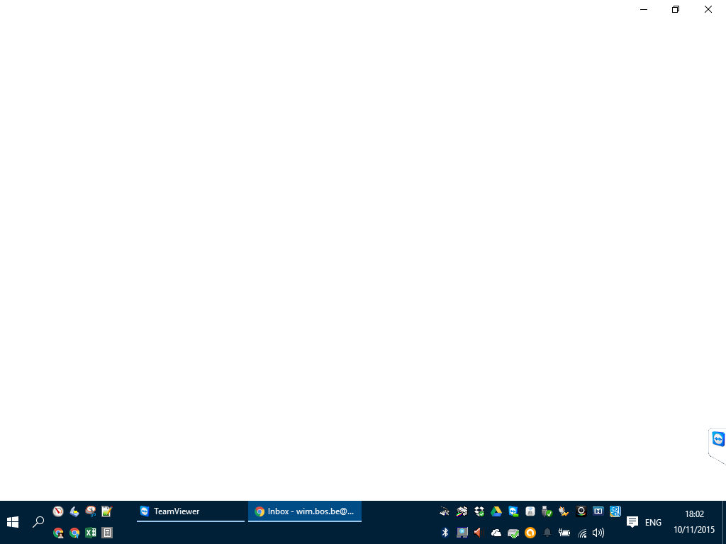 Google Chrome does not render properly when monitor is