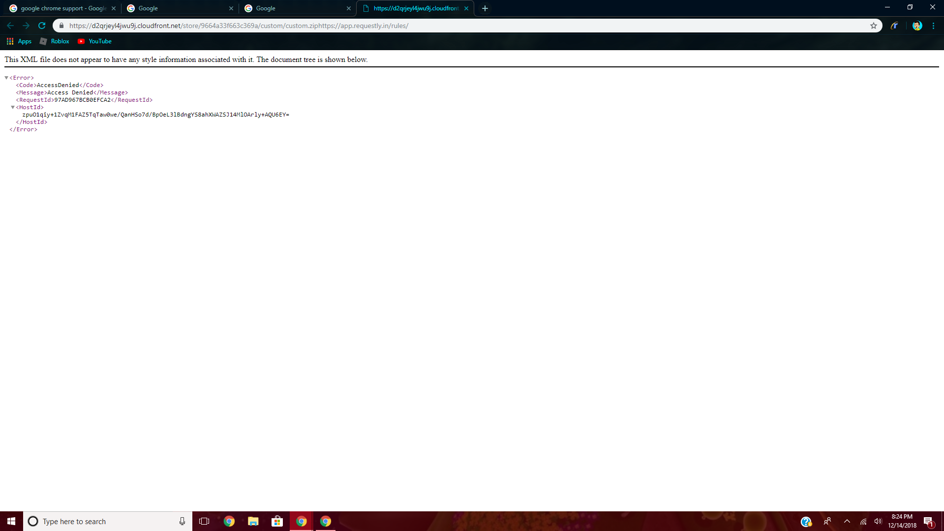 This is A big problem with my chrome account and i can't fix it
