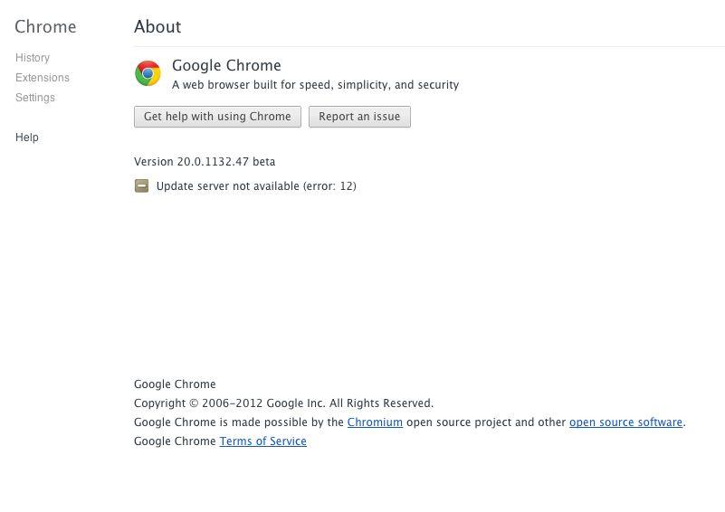 Google Software Update quit unexpectedly - Google Chrome Help