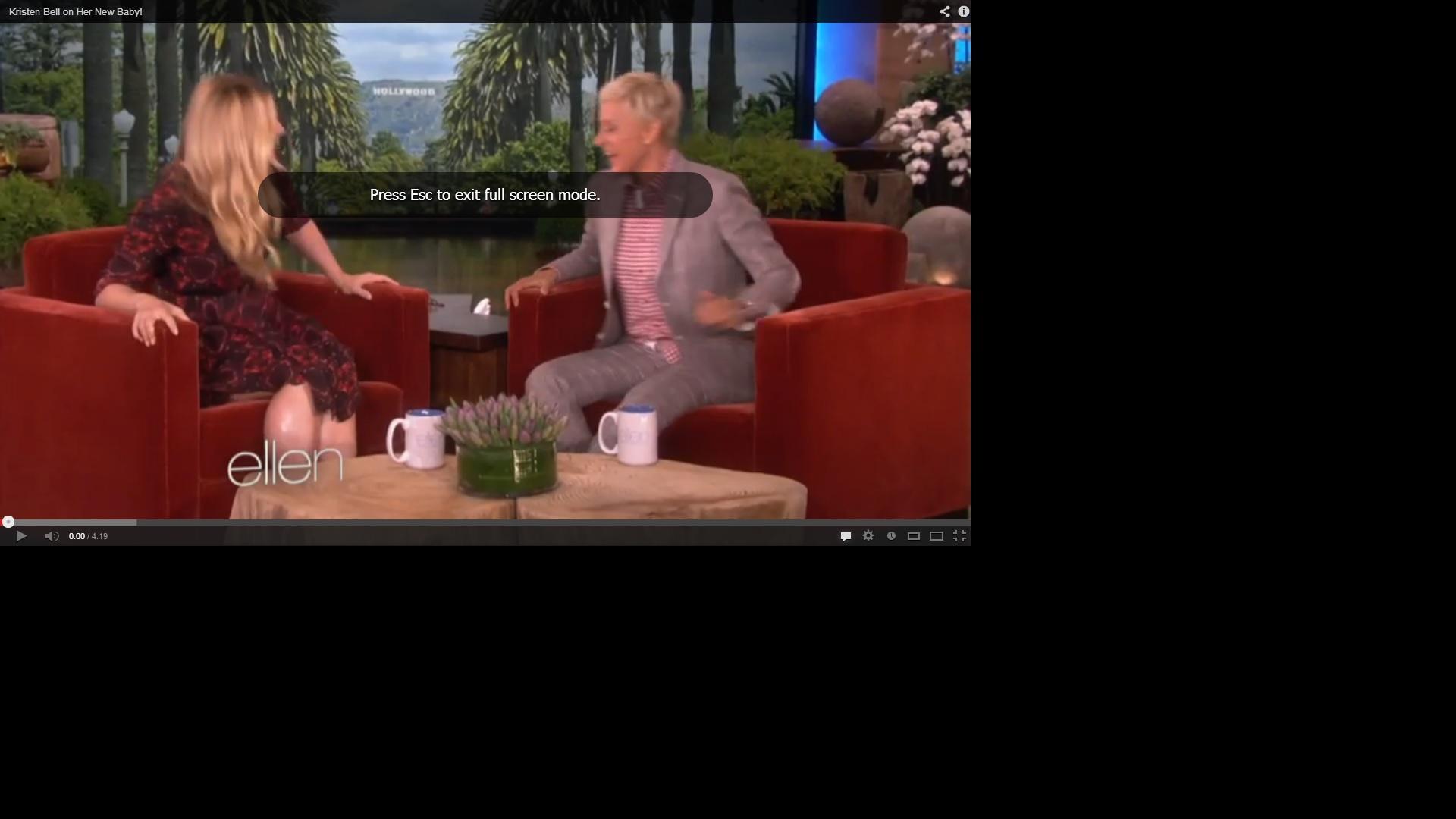 Full Screen YouTube Video Error - Google Chrome Help