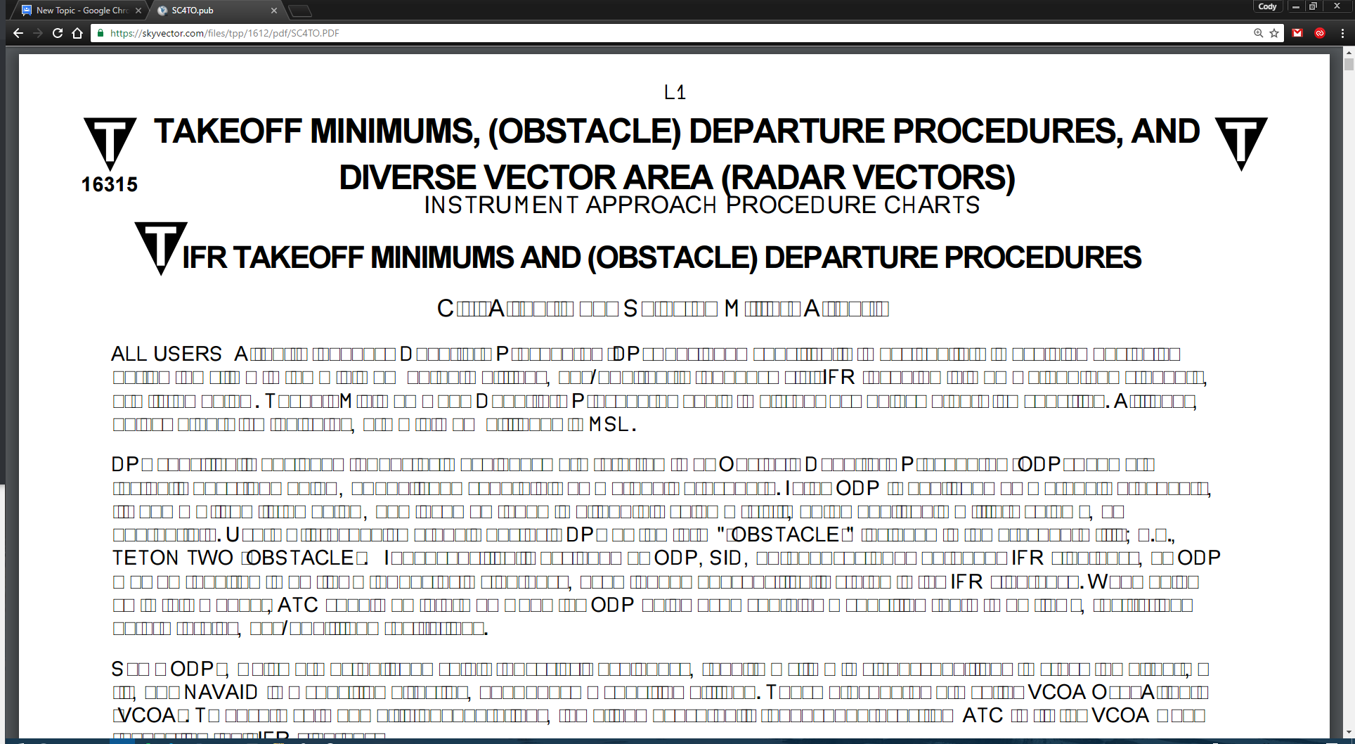 Some PDFs viewed in Chrome display squares in place of lowercase