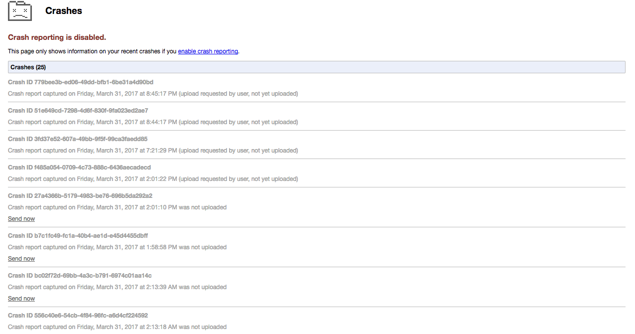 Google Chrome keeps crashing on my Mac - Google Chrome Help