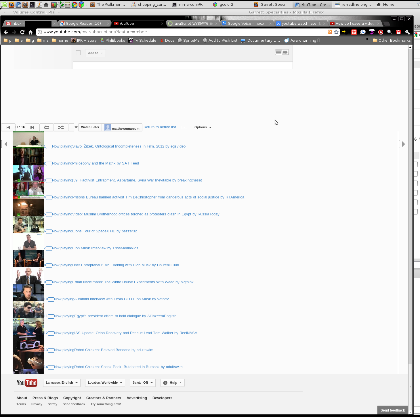 New Youtube layout not working in chrome 20 on linux mint
