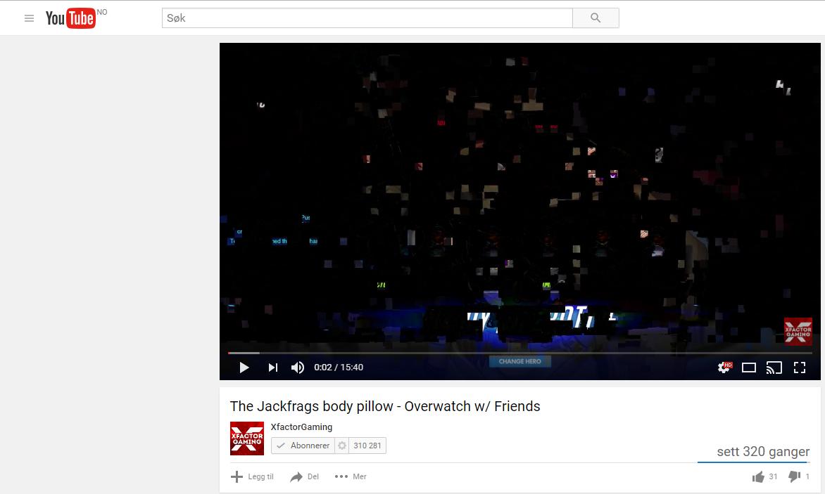Videos and GIFs glitches on chrome - Google Chrome Help