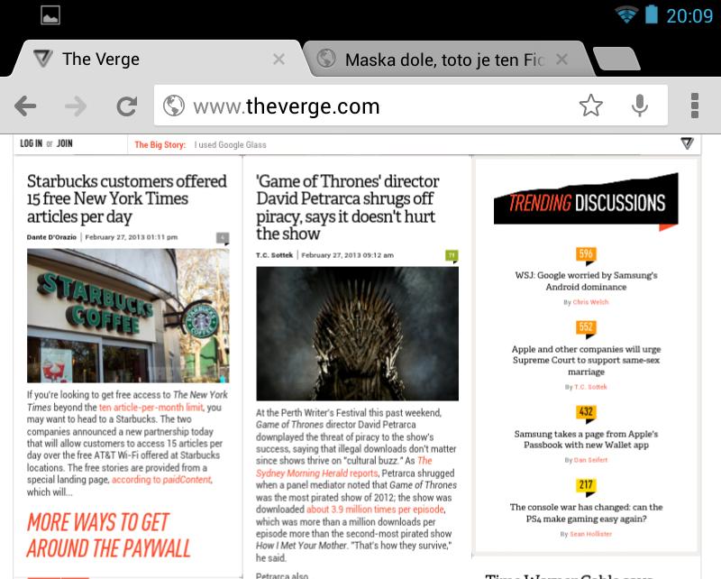 Chrome Andoid - blurry text since last update - Google