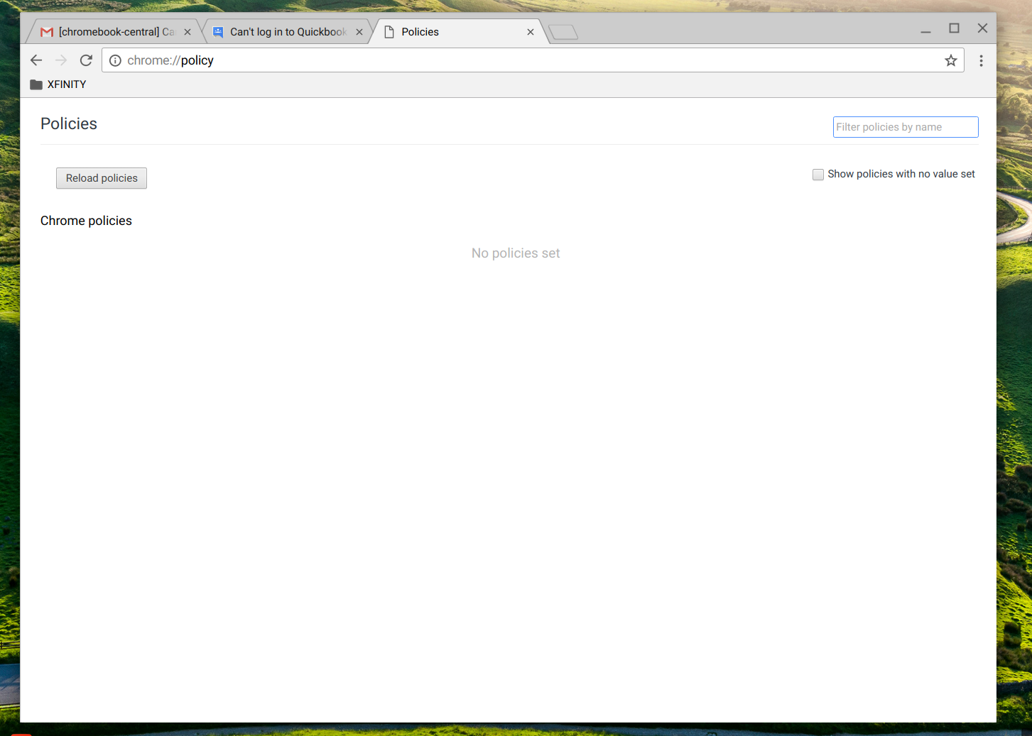 Can't log in to Quickbooks Online on Chromebook - Chromebook Help