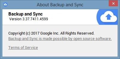 BACKUP AND SYNC (B&S) - CAN'T CONNECT - Drive Sync Client