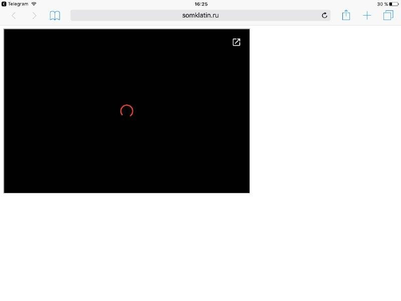 Google drive embed video doesnt work on mobile (Android, IOS etc