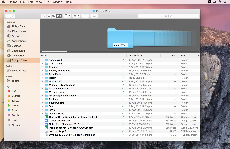 How do I create a new doc or sheet in a Mac? - Google Drive Help