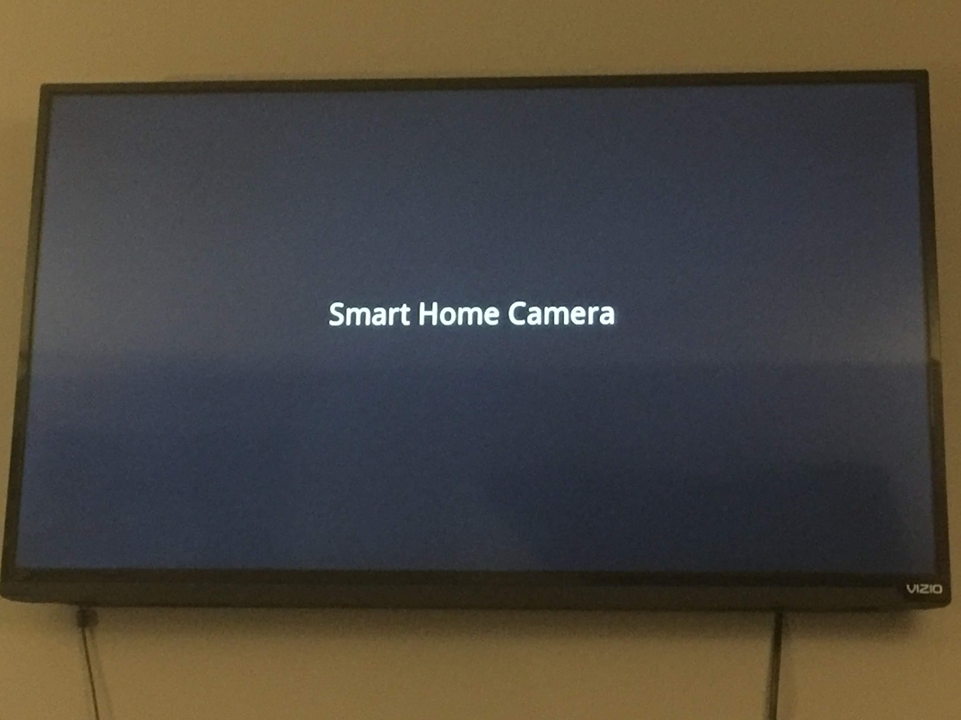 Cannot Stream Zmodo Wifi Cameras to Visio Smart TV via Chromecast