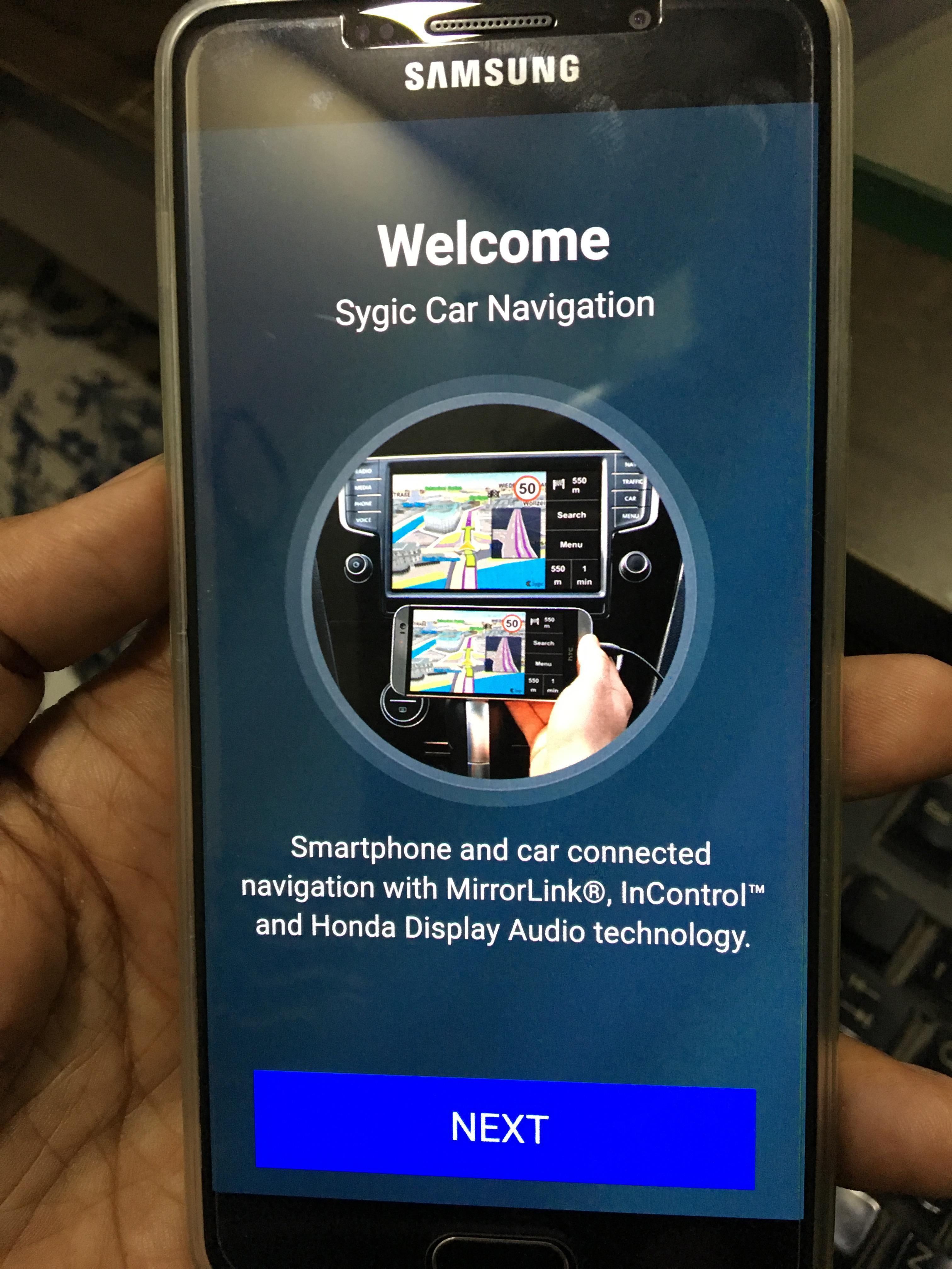 App Sygic Car Navigation Map downloading Problem - Google