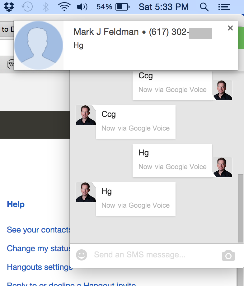 How do I disable double notifications in Hangouts (Mac