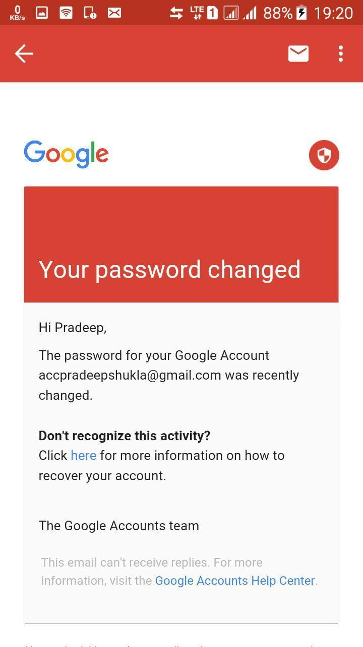 Urgent! Someone hacked my Gmail account having confidential data in