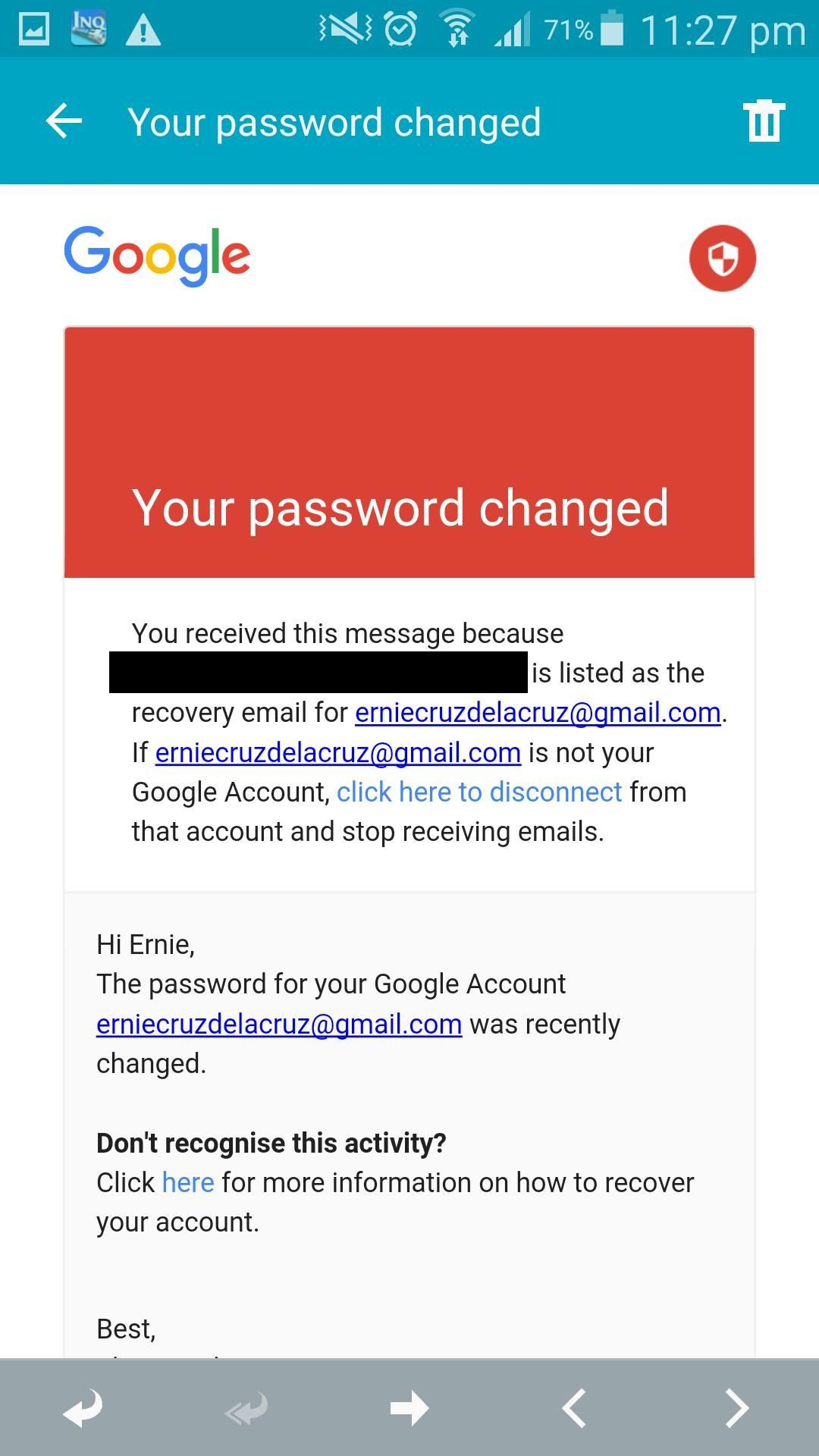 Account Delete/Retrieve (Account Hacked) - Ajuda — Gmail