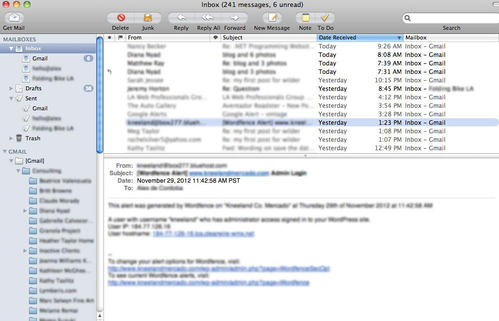 Gmail IMAP service stopped Syncing with Mac Apple Mail