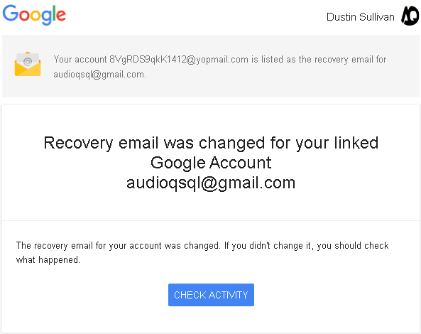 Gmail account hacked by yopmail   Need help! - Gmail Help