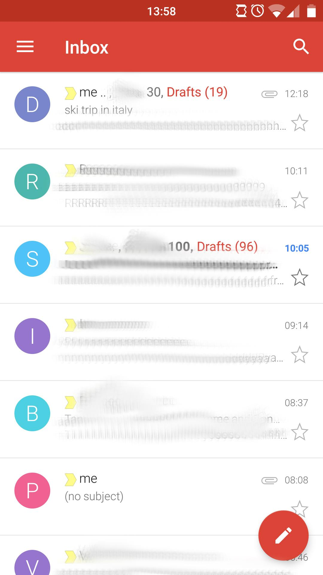 Gmail App on Android creates and saves multiple drafts of already