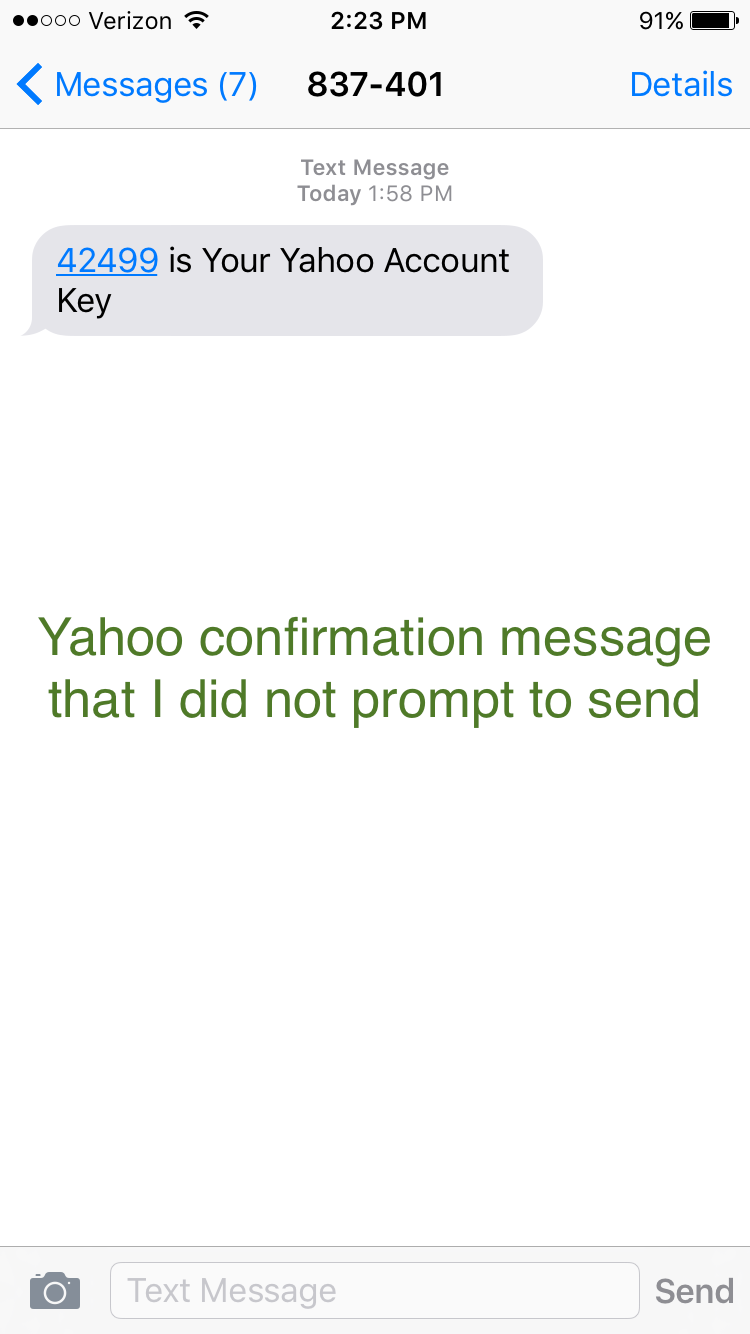Someone stole my phone number and opened up a gmail account