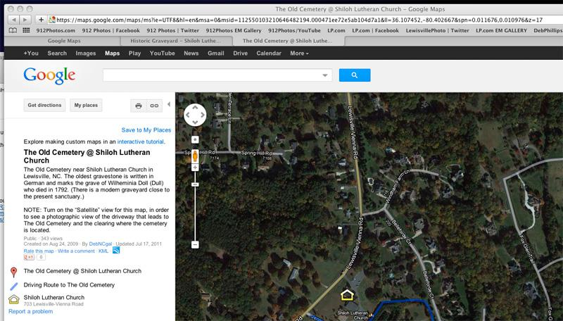 See no way to edit existing custom/public Google Maps
