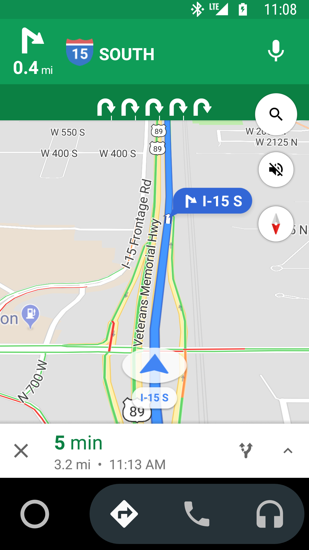 Why does Maps Navigation tell me to U-turn on the freeway? I