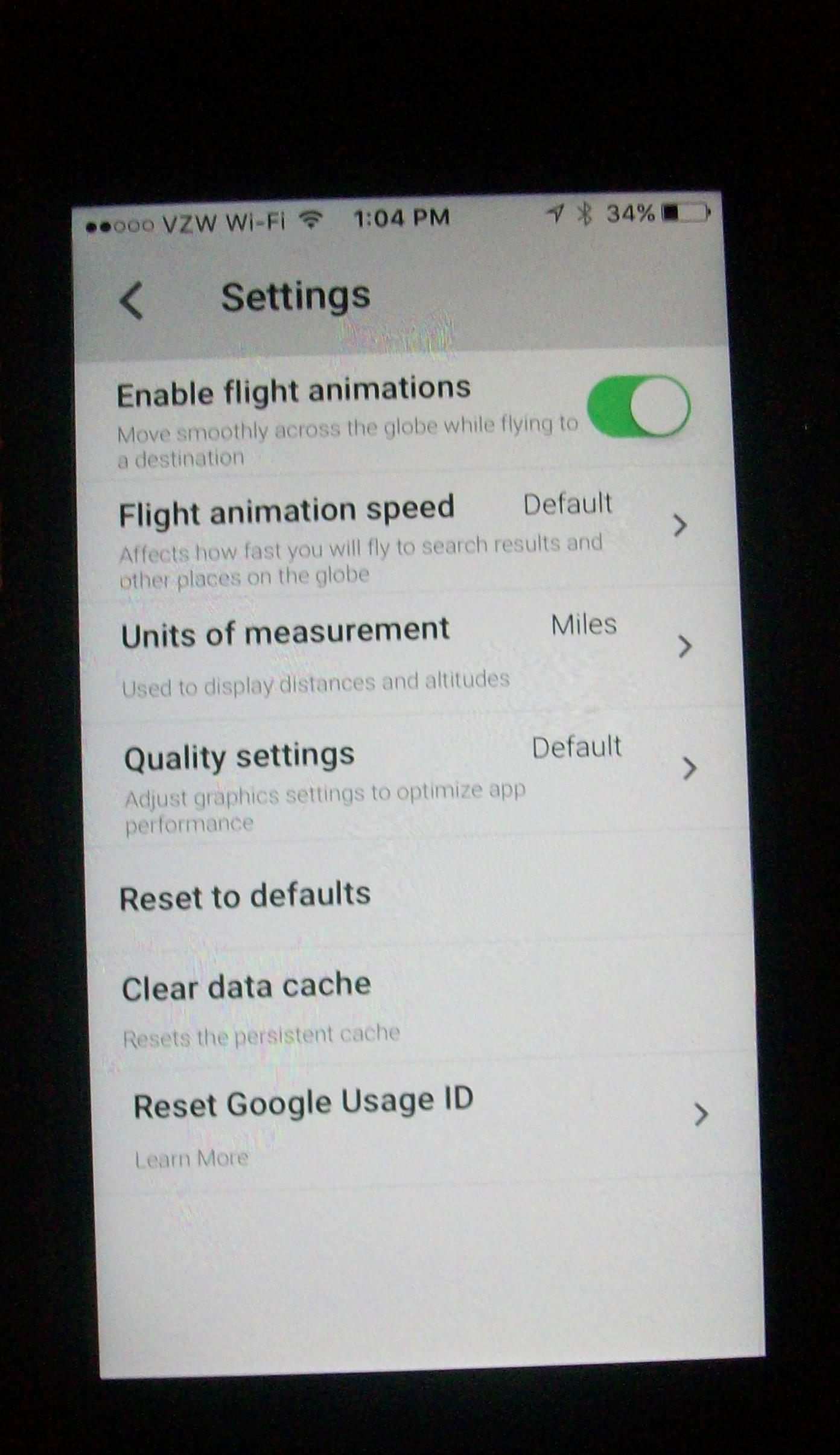 Clear Google Maps History Iphone on