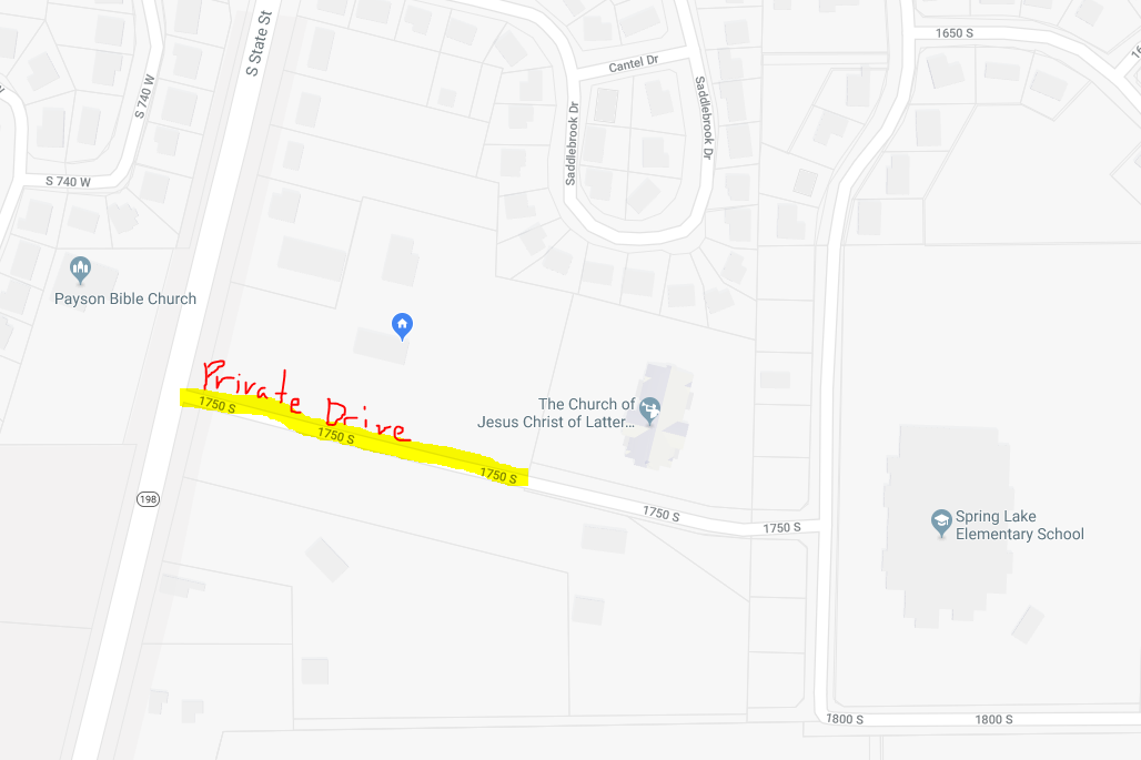 My Private Drive is Listed as a Public Road!!!   Google Maps Help