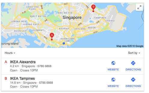2 Locations but only 1 showed - Google Maps Help