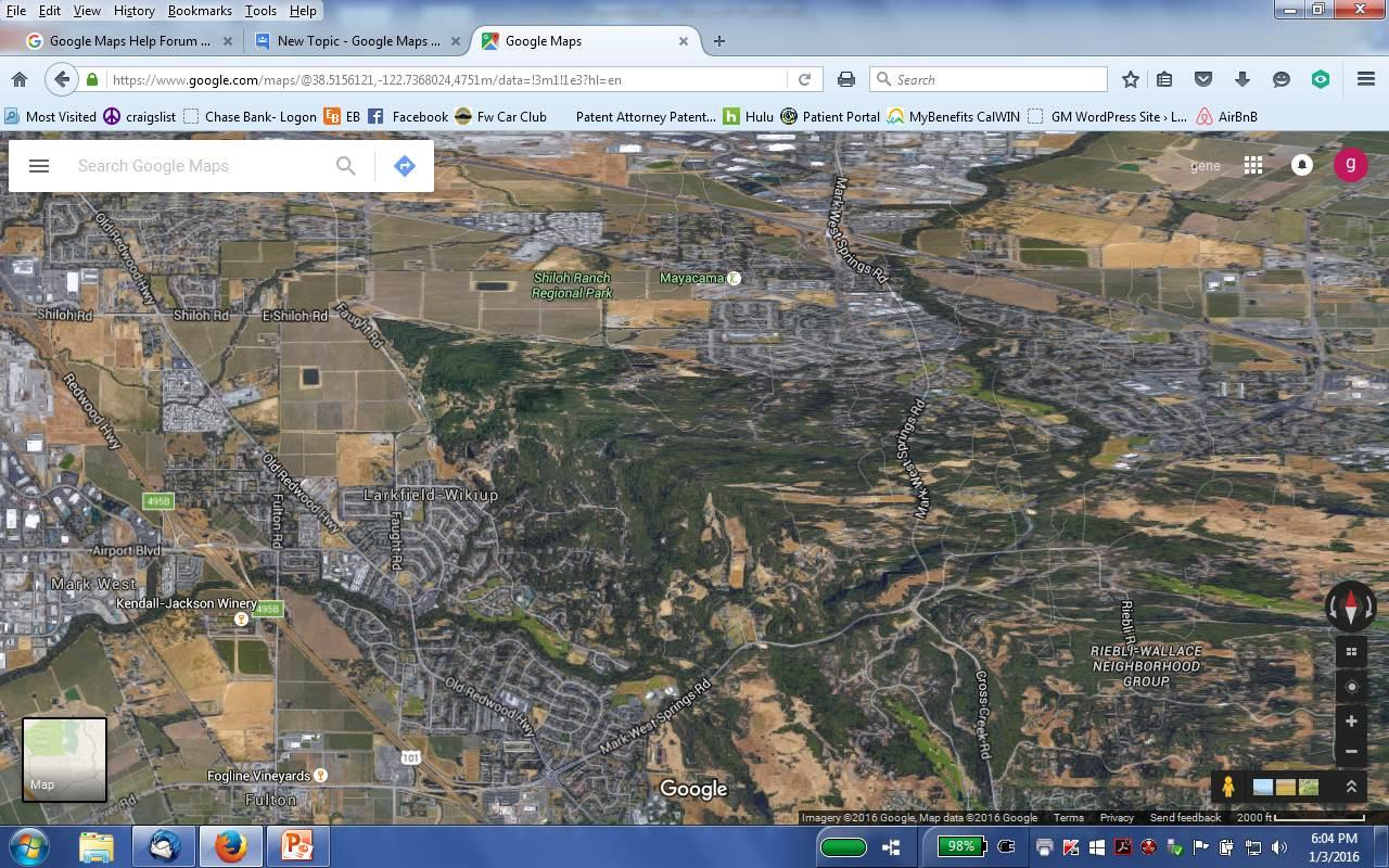 How can I fix the Google Maps Satellite View? - Google Maps Help