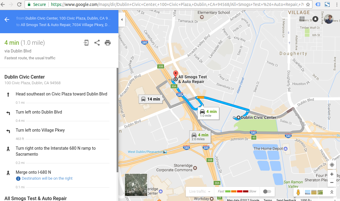 How to correct illegal and dangerous directions by Google