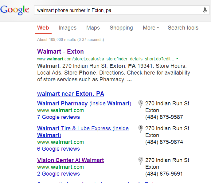 Walmart Call In Number >> A Phone Number To A Local Walmart Results In The Pharmacy S Phone