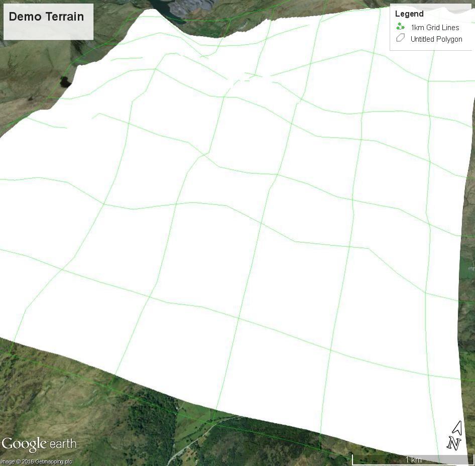 Wireframe of Terrain - Google Maps Help