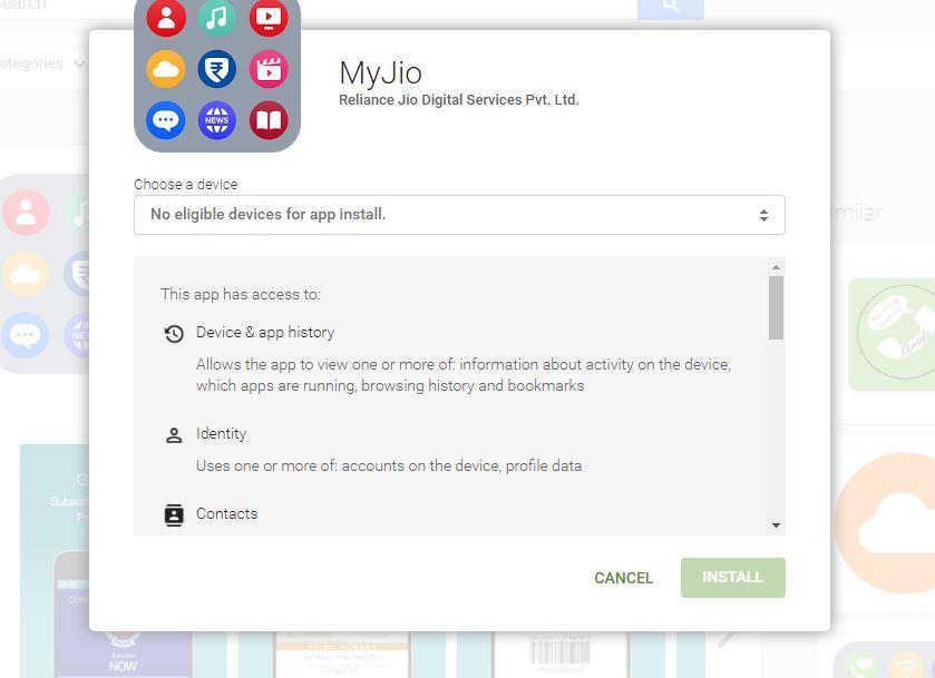 MyJio app not compatible with my nexus 5 device - Nexus Help