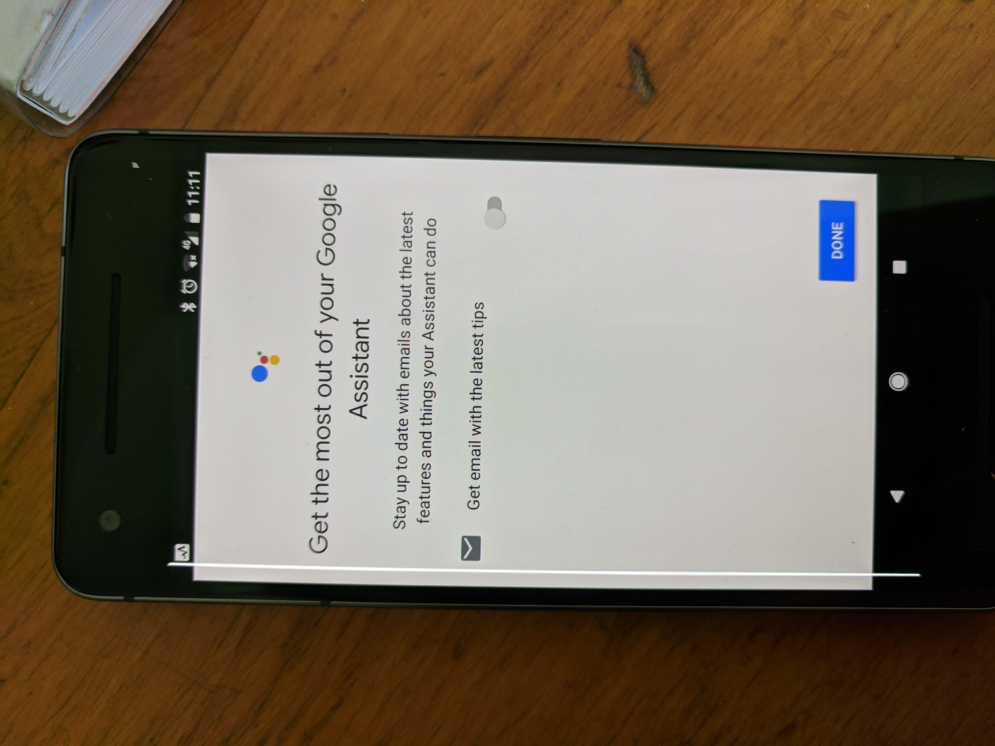 White Line on Pixel 2 screen - Pixel Phone Help