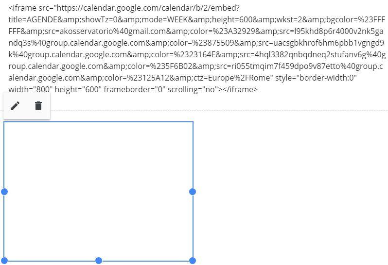 Embedding Google Calendars - Sites Help