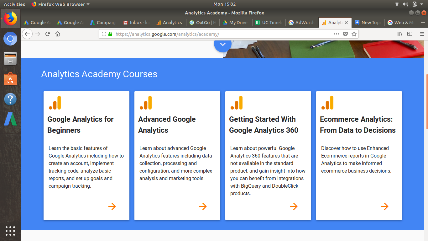 Where is Google Tag Manager Fundamentals Course? - Tag Manager Help