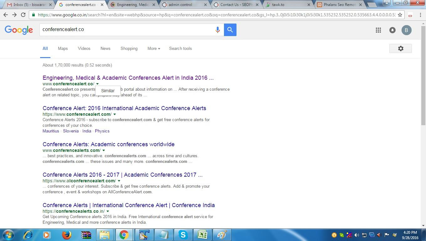 Home page is not indexing but other pages are indexed