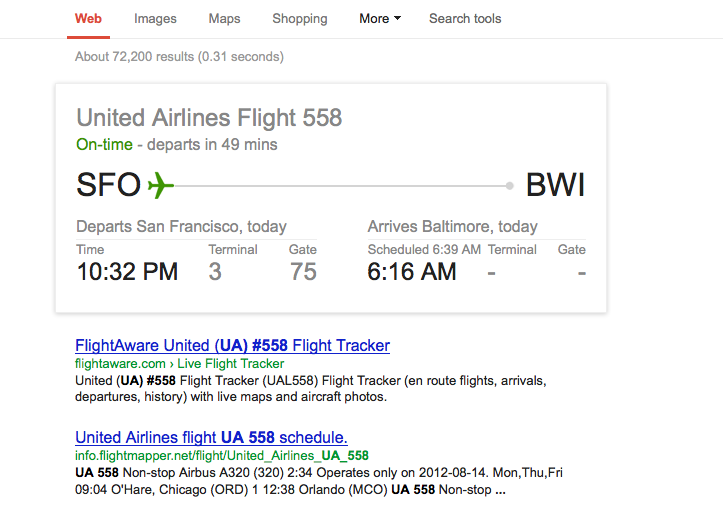 Re: Airline flight search date error? - Google Search Help