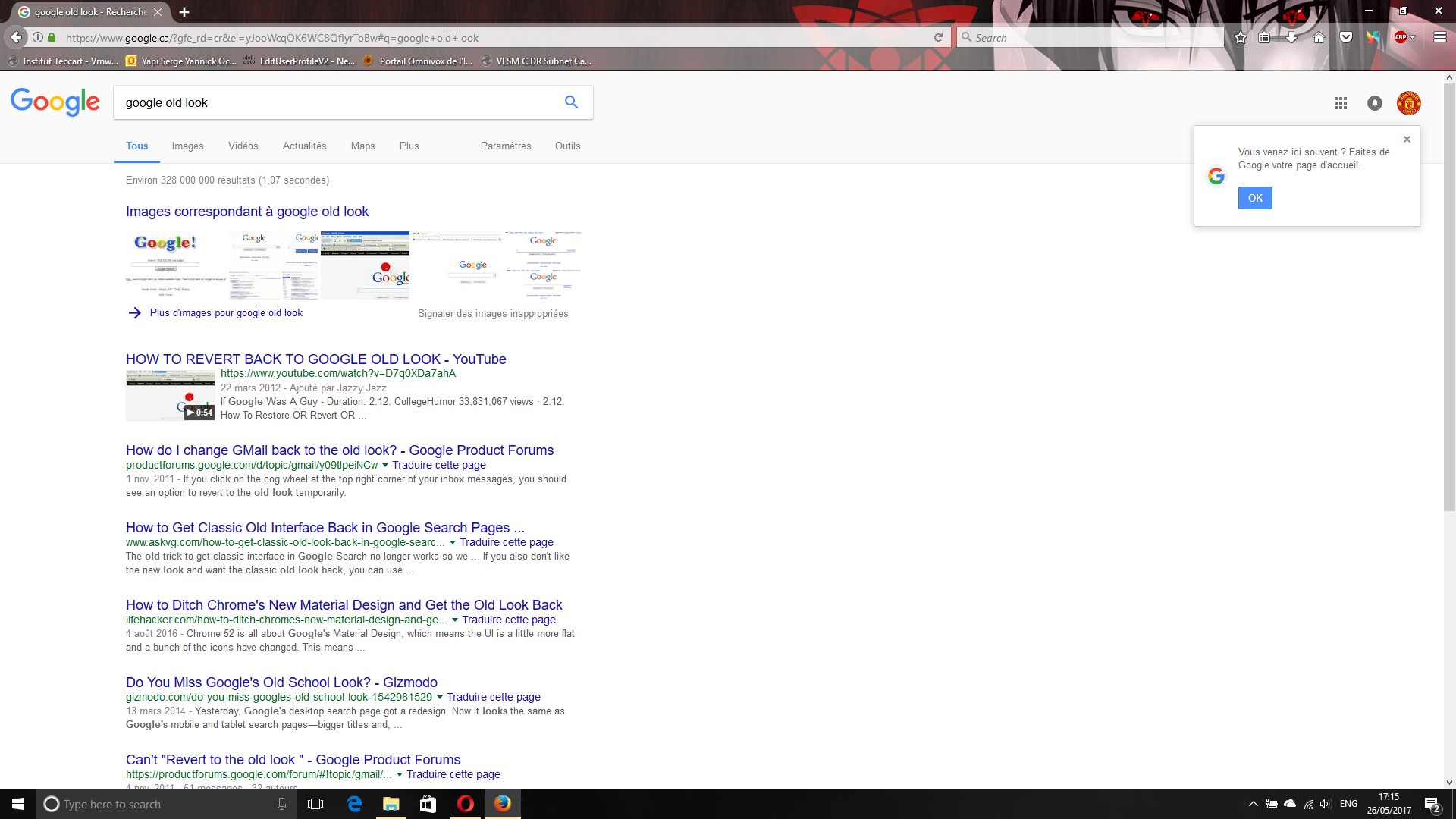 Opera 45 cant view standard Google Search - Google Search Help