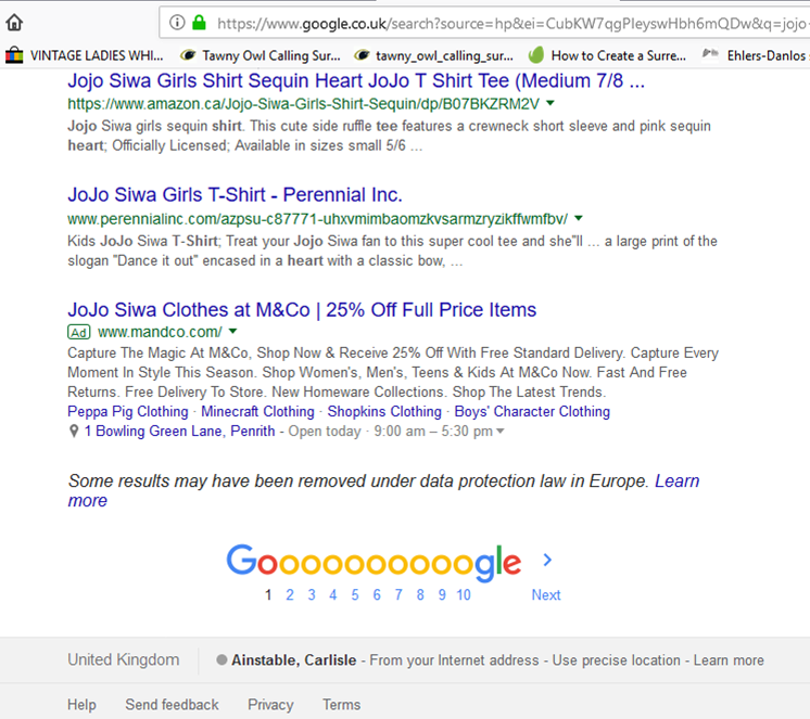 Mixed UK and USA search results - Ajuda — Cerca de Google