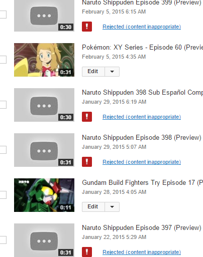 Videos keep getting flagged for no reason - YouTube Help