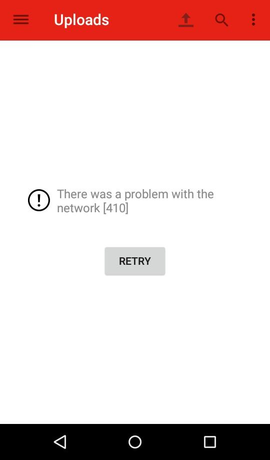 Error 410 - YouTube Help