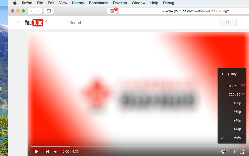 YouTube Resolution 1440p - Chrome Only? - YouTube Help