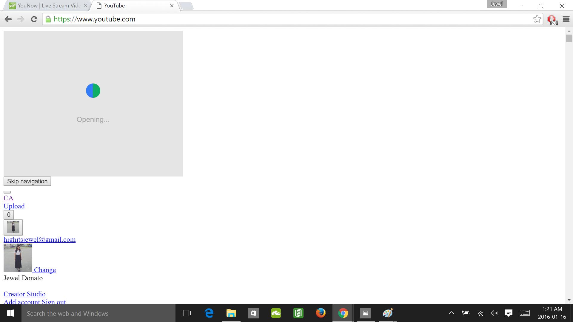 YouTube's appearance on Google Chrome looks odd - YouTube Help