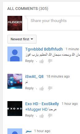 omg i lost 100 comments on my new video ? - YouTube Help